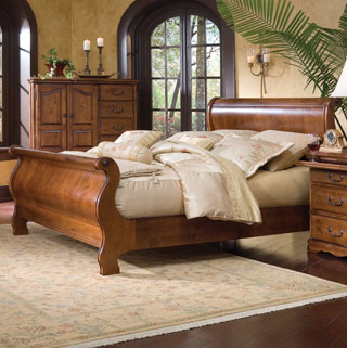 Sleigh Beds made in America