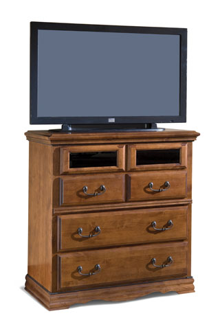 Entertainment Console, Alder-2