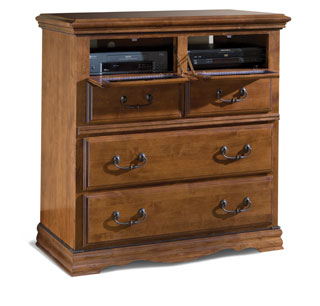 Entertainment Console, Alder-3