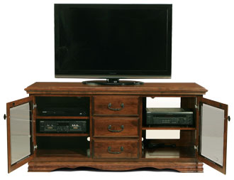 3-Drawer Console-3
