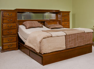 Adjustable Bed Drawer Pedestal-1