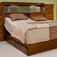 Adjustable Bed Drawer Pedestal